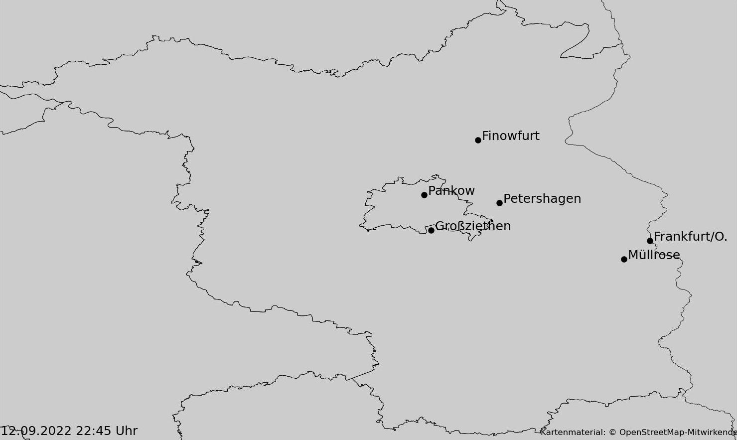 Niederschlagsvorhersage Berlin und Brandenburg